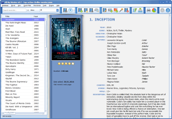 Movie Organizer - Main window screenshot
