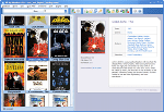 Movie Organizer - Thumbnails view